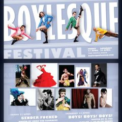 BurlyCon and Seattle Boylesque