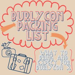 BurlyCon Basics-Packing 101